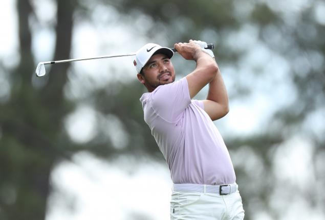 Jason Day bounces back from injury to share Masters lead