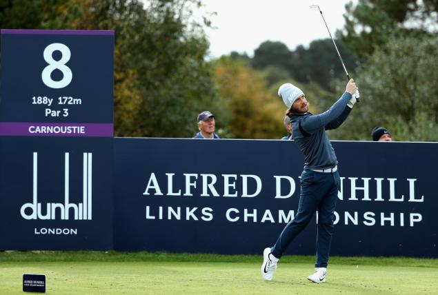 Watch: Tommy Fleetwood's course record 63 at Open venue Carnoustie