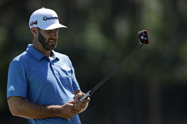 DJ puts new TaylorMade putter into bag at Players Championship