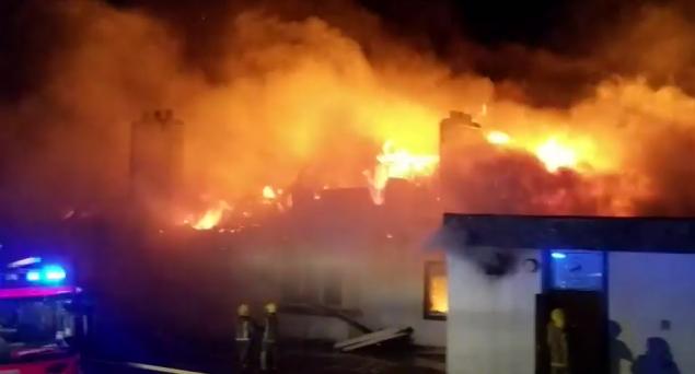 Machrihanish fire