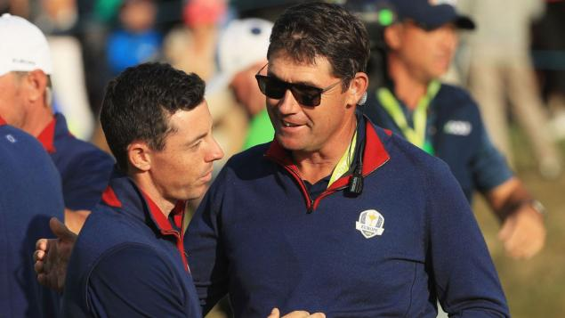 Padraig Harrington says Rory McIlroy WILL play in the 2020 Ryder Cup