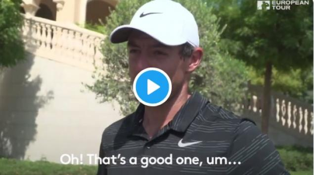 WATCH: European Tour pros reveal the games they want for Christmas...