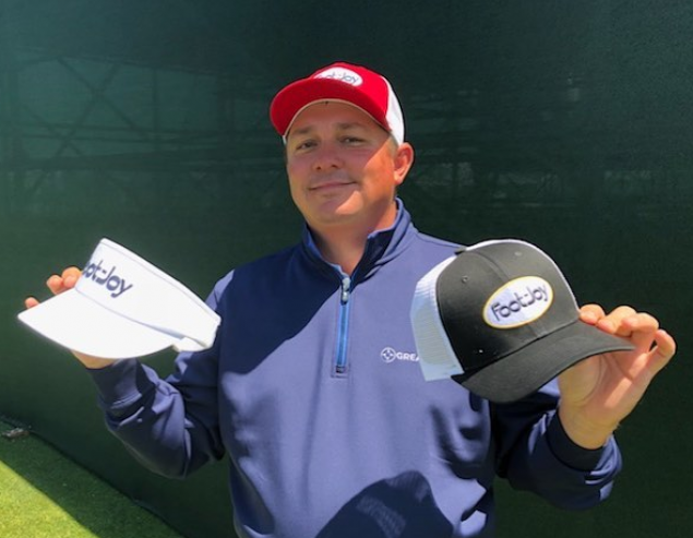 Fan favourite Jason Dufner rocking retro FJ hats at US Open