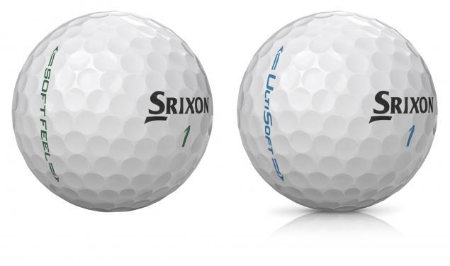 Srixon launch UltiSoft and Soft Feel golf balls