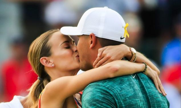 You won't believe the pic Jena Sims has posted of her & Brooks Koepka!