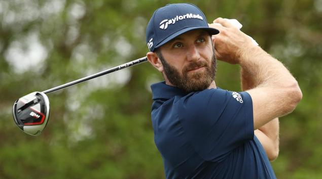 Dustin Johnson: in the bag at the 2019 Masters