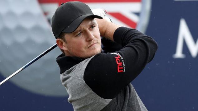 Eddie Pepperell shares British Masters lead with LOGIC-DEFYING ACE!