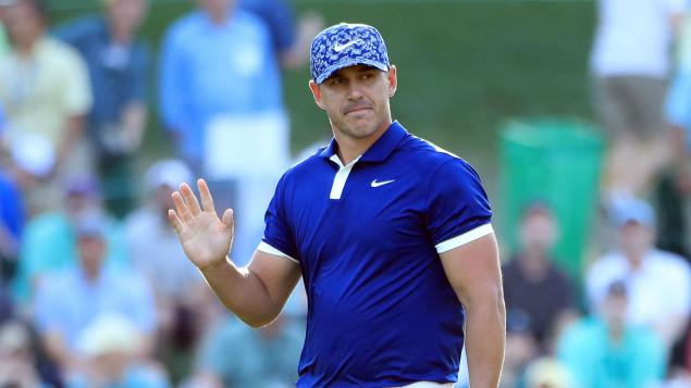 Brooks Koepka fires back at criticism to share lead at Masters