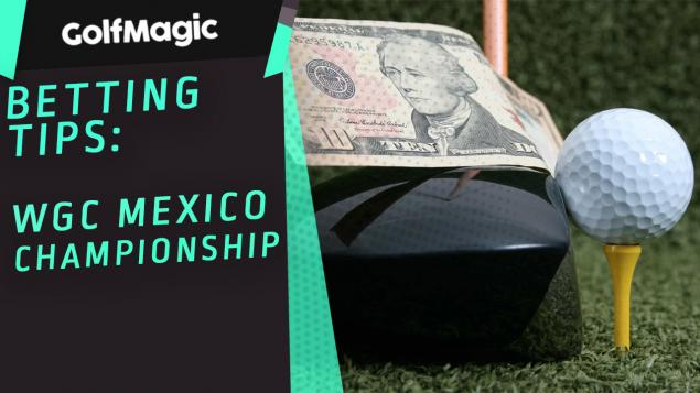 WGC Mexico Championship betting tips