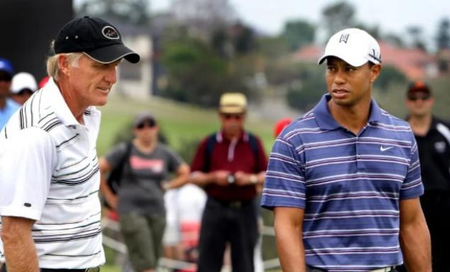 Tiger Woods takes pop at Greg Norman during Presidents Cup presser