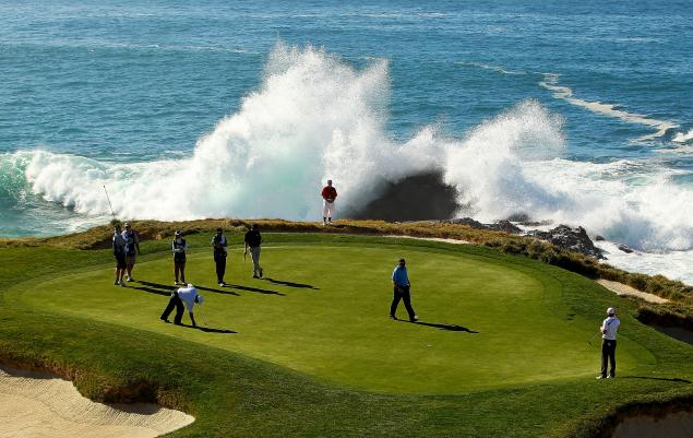 Storm causes CHAOS ahead of AT&T Pebble Beach Pro-Am...