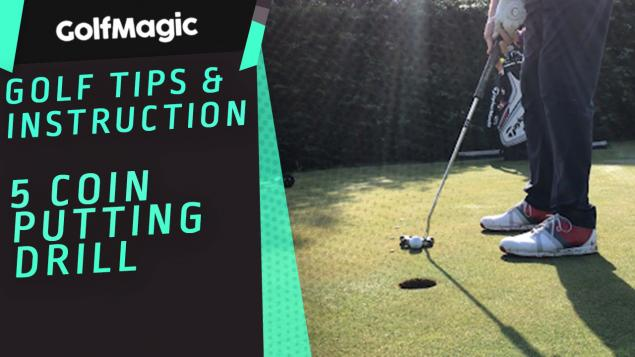 WATCH: Golf's classic FIVE COIN Putting Drill