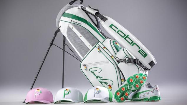 Rickie Fowler Arnold Palmer tribute