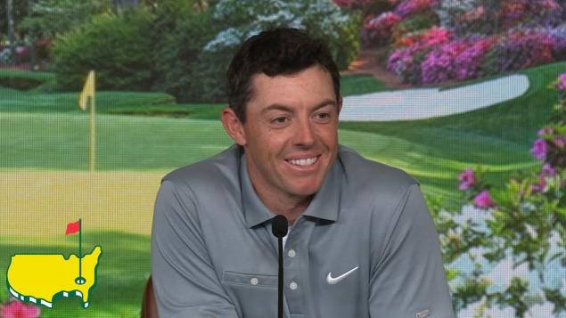 Rory worked on his mental game