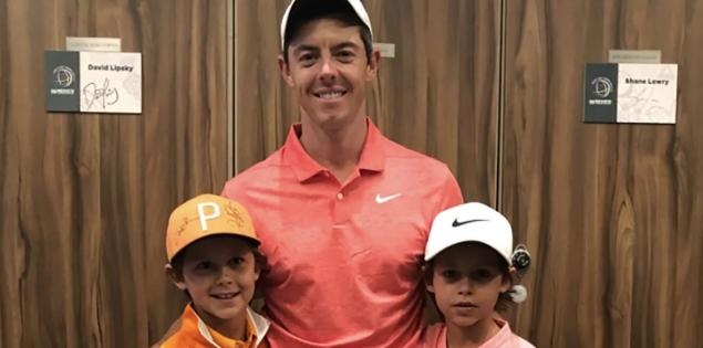 WATCH: Rory did the coolest thing ever for two heartbroken kids at WGC