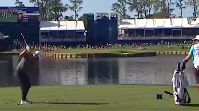 Ryan Moore hole in one