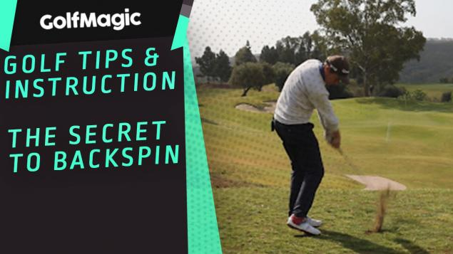 WATCH: How to increase backspin every time with your wedge...