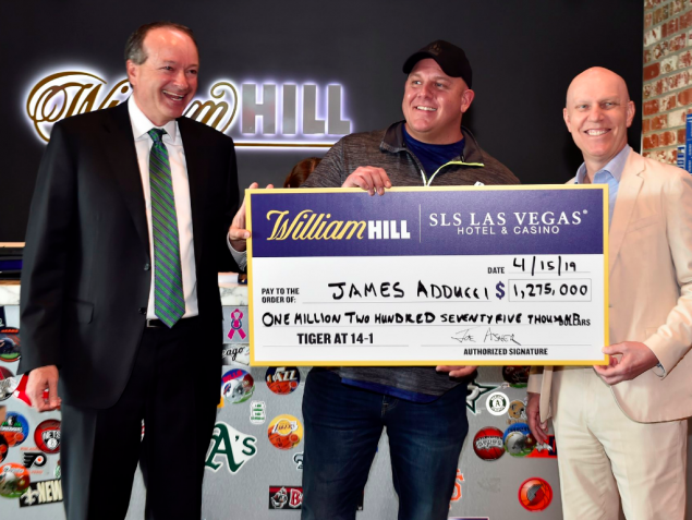 First-time gambler wins $1.2 million on Tiger Woods winning Masters