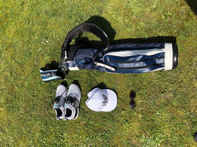 Jones Golf Bags Original Navy Bag Review