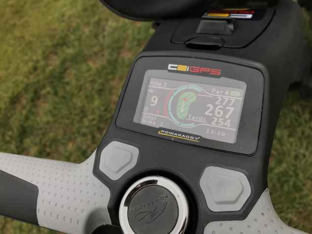 C2i GPS yardages