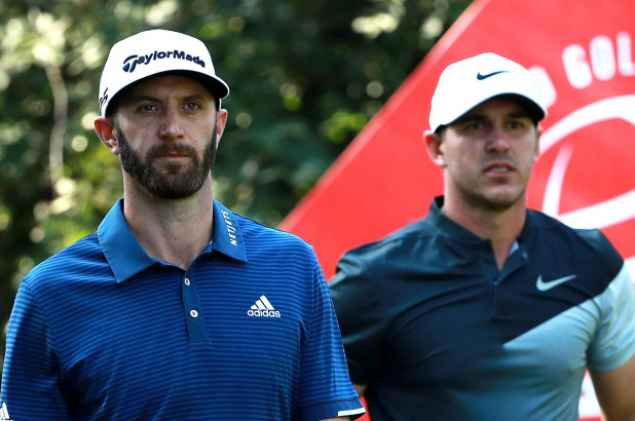 The Open: Dustin Johnson - What's in the bag?