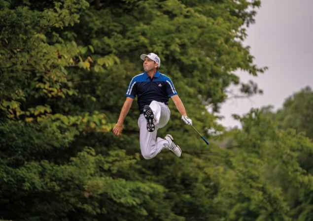 Sergio Garcia recreates Medinah magic