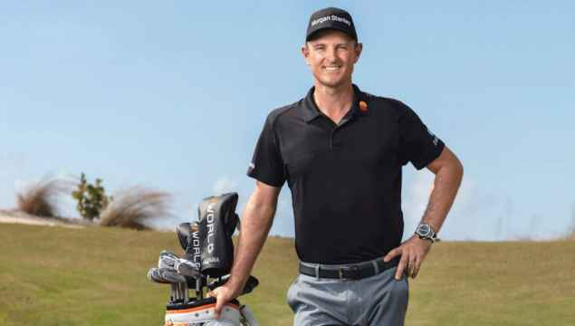 Justin Rose signed for HONMA last year