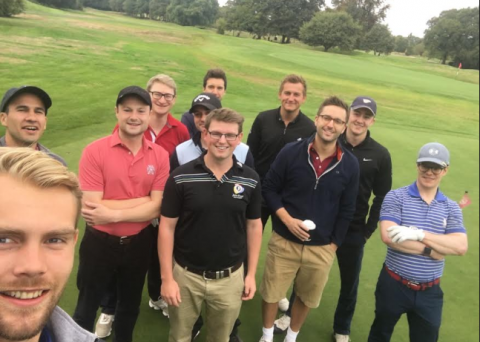 Millennial golfers thriving at Royal Mid-Surrey Golf Club