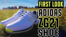 NEW adidas Golf ZG21 shoe as worn by Dustin Johnson | First Look Review