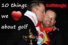 10 reasons why we LOVE golf so much ahead of Valentine's Day