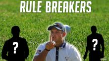 WATCH: Five times when a PGA Tour pro BROKE THE RULES!