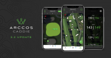 Arccos adds voice commands & hole locations