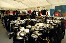 Golf equipment sales rise 8% in US