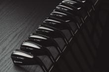 TaylorMade launch P790 Black irons