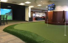 golfer's airport dream