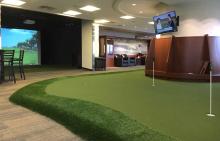 golfer's airport dream