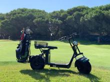 Portuguese golf resort introduces electric golf bike rental