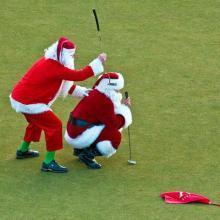 Top 3 christmas golf games