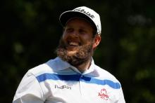 Beef drops trousers at Nordea Masters, saves par from hazard