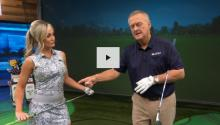 Blair O'Neal shows how to take spin off your wedge shots like Justin Thomas