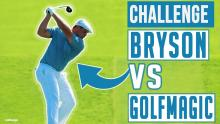 Bryson DeChambeau vs GolfMagic | Swing Speed Challenge