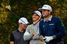 WATCH: Hilarious Dustin Johnson and Keegan Bradley golf impressions!
