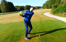 One CRAZY golf tip that will help you hit the golf ball straight