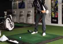 how to hit low drives into the wind