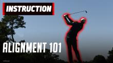 How to hit it straight like a PGA Tour pro - golf alignment 101
