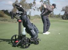 Foresight Sports launches its first ELECTRIC TROLLEY and it looks incredible