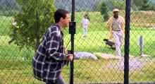 WATCH: Man recreates Happy Gilmore batting cage scene