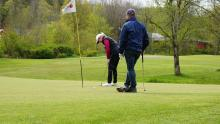 Are golf courses soon to be reopened in England? This suggests they might be...