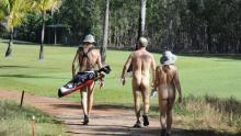 Australia plays host to first ever Nude Golf Day