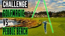 Pebble Beach Golf Course VS GolfMagic | How hard are courses on the PGA Tour?